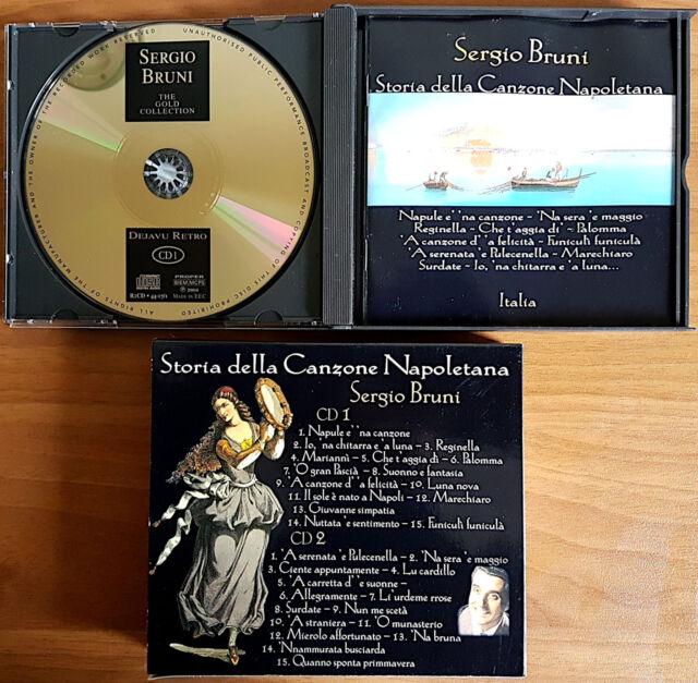 Storia della Canzone Napoletana: Sergio Bruni (2 CD), Ed. Dejavu Retro, 2004