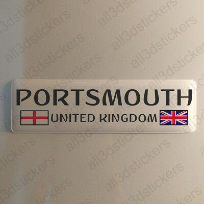 Sticker Worcestershire UK Resin Domed Stickers England Flag 3D Adhesive Decal