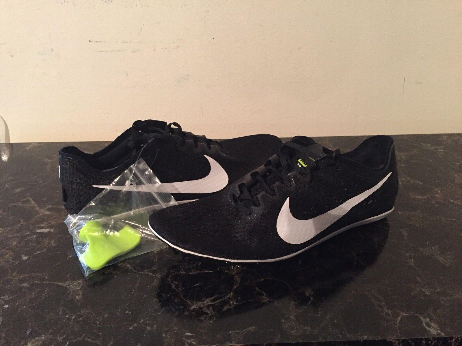 edb13103dc2c Nike Zoom Victory 3 Mens Track       Field Spikes Black White Sz 11 ...