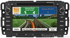 GMC Sierra In-Dash DVD CD GPS Navigation Bluetooth Touchscreen Radio AV Receiver
