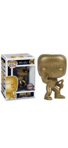 Funko POP Movie Icons-Bruce Lee-Golden édition spéciale