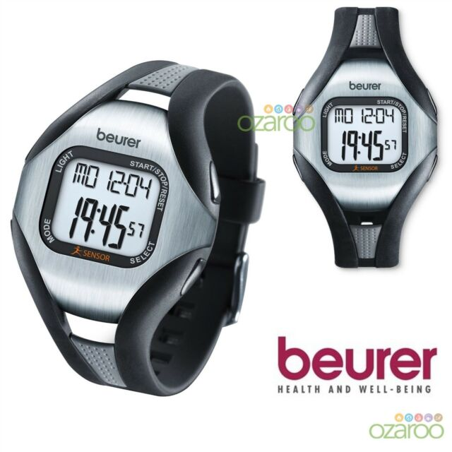 NEUF BEURER ECG exacte de fréquence cardiaque moniteur Calories Pulse Sports Bracelet Montre PM18