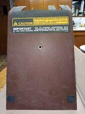 Case 580 K Control Tower Console Front Cover Part D134087 Loader Backhoe
