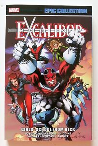 Excalibur-Girls-School-From-Heck-Marvel-Epic-Collection-Graphic-Novel-Comic-Book