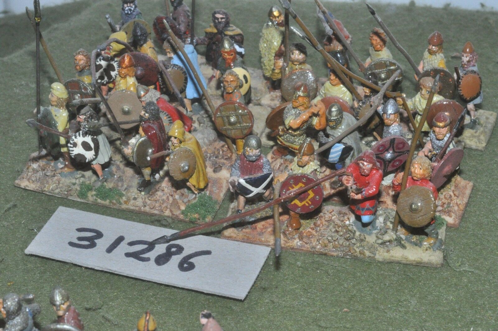 25mm dark ages   viking - warband 32 figures - inf (31286)