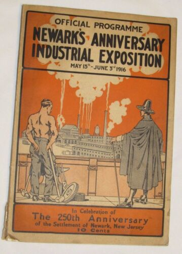 AUTHENTIC!Newmark's Anniversary Industrial Exposition May 13th June 3rd 1916