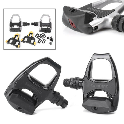 PD R540 Pedal Clipless Bicycle Racing Pedals Float Cleats 2PC Road Bike