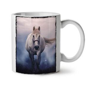 Horse Mystic Wild Animal NEW White Tea Coffee Mug 11 oz | Wellcoda