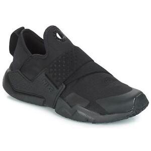c72e68e172 Image is loading Nike-Huarache-Extreme-GS-AQ0575-004-BLACK-Boys-