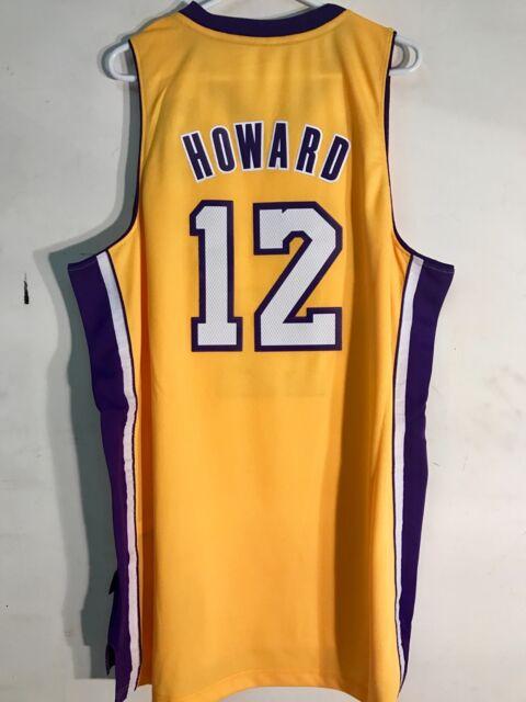 half off 4d1cf b6523 adidas Swingman NBA Jersey Lakers Dwight Howard Gold Sz 2x