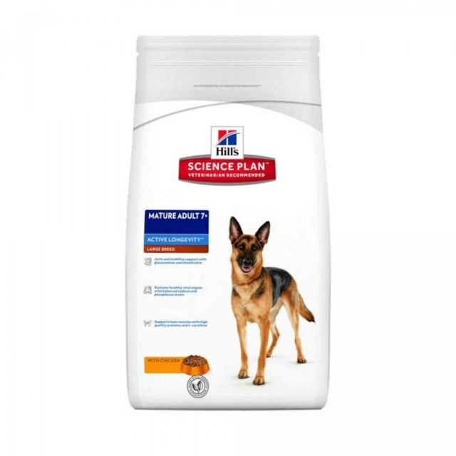 HILL'S SCIENCE PLAN 12 KG MATURE LARGE BREED alimento per cane cani anziani