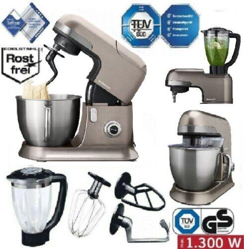 Profi Küchenmaschine SILVERCREST SKMP 1300 C1neten, Rühren & Mixen 6,3 L