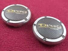 DRAG Extreme Wheels Chrome Custom Wheel Center Caps Set of 2 # CAP-DR21-1570