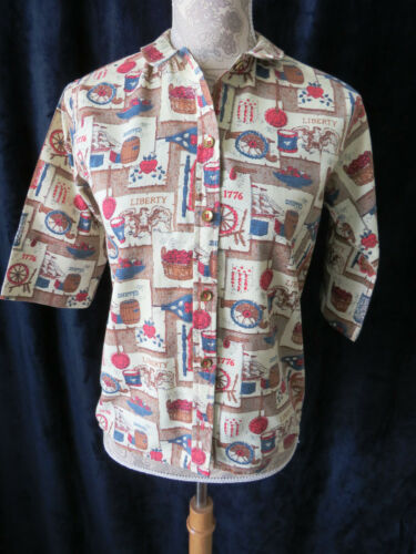 1960s Bobbie Brooks Blouse - Country Looks by Bobb