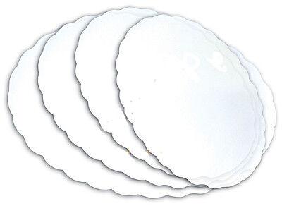 Sottofritti Ovali In Carta Bianchi Cm.16x24 Conf.500 Pz.
