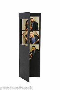 Photo Booth Nook's 100 Photo Booth Frame Folders for 2X6 Picture Strips