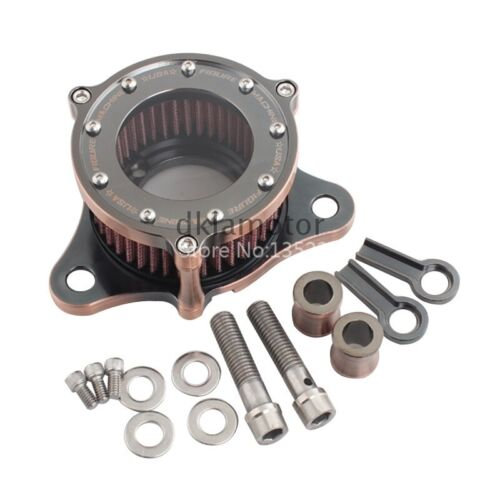 Motorcycle Air Cleaner Intake Filter w//Hardwares For Harley Sportster XL883 1200
