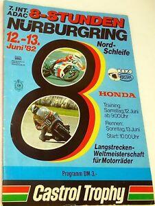 12-13-Juin-82-Nordschleife-sans-Gewinnlos-Nurburgring-Brochure-de-Programme-A