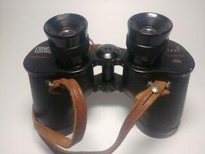 Bushnell-Featherlight-7x35-Binoculars-Vintage-with-Strap-Black-Used