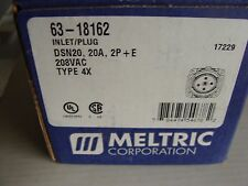 Type 4X 480Vac Used take out CSQ Meltric DSN20 Decontactor 20A