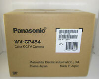 Panasonic Wv-cp484 Sdiii Super Wide Dynamic Wdr Cctv Box Security Camera