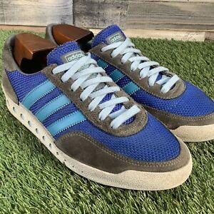 UK7-Adidas-PT-70s-Trainers-Rare-Retro-2008-Originals-Classic-Trefoil-EU41