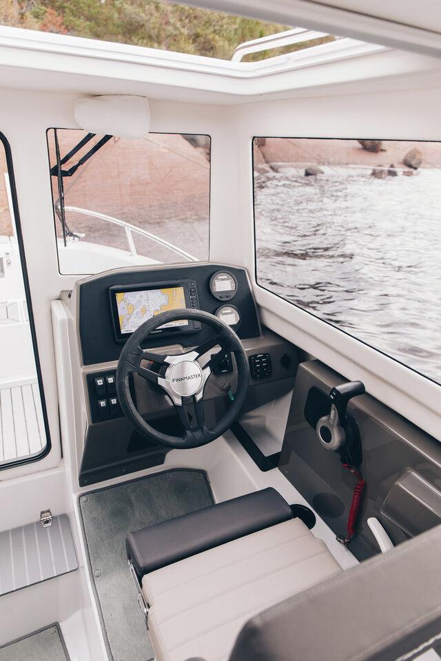 Finnmaster Pilot 6 med Yamaha 115 HK påhængsmotor