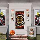 Halloween Carnaval Rampant Clown Fête Affiche De Porte Mise En Scène