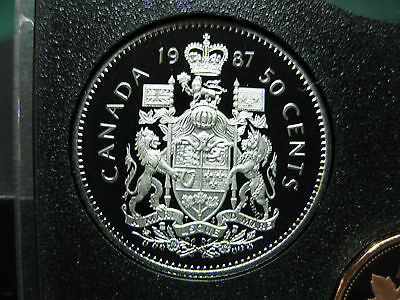 1981 Canadian Prooflike 50 Cent $0.50 Fifty Cent