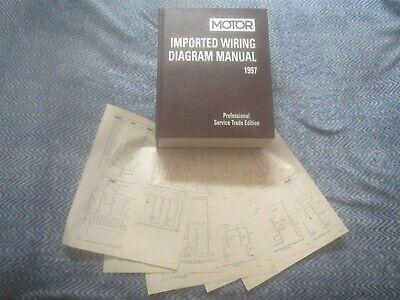 1997 Mazda Miata Wiring Diagram Schematics Ebay