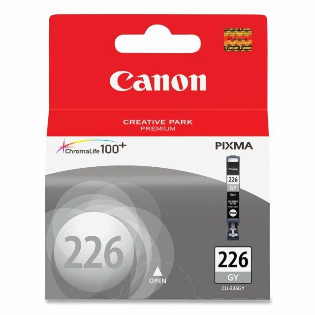 Genuine Canon CLI-226 Gray for PIXMA iP4920 MG5120 MG6120 MG6220 MG8120 MX712