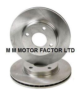 Ford-Focus-MK1-1-4-1-6-1-8-TDDi-TDCi-2-0-16v-Delantero-Discos-De-Freno-Ventilados-X2-Par