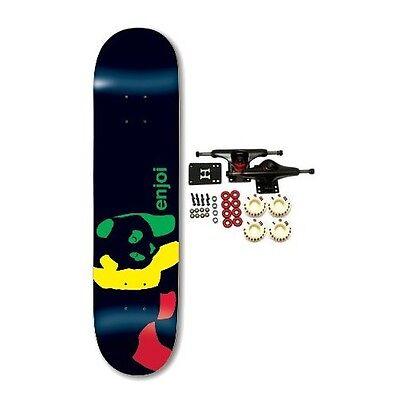 ENJOI Skateboards RASTA PANDA Complete Skateboard NEW!