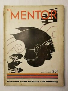 ANTIQUE-The-Mentor-Magazine-March-1930-Volume-18-Number-2