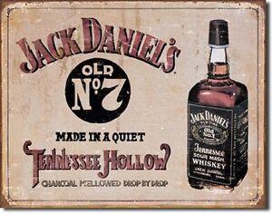 Jack Daniel whiskey club bar metal tin sign nostalgic reproductions