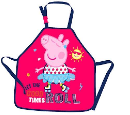 Peppa Pig Schwein SCHÜRZE MALSCHÜRZE KINDERSCHÜRZE NEU