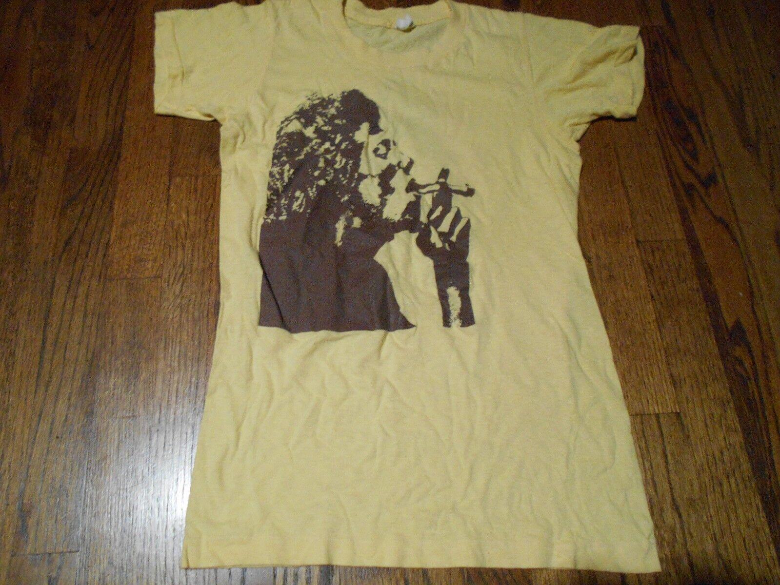 ORIGINAL VINTAGE BULLDOG T Shirt 70'S cannabis AMSTERDAM PSYCHEDELIC HEMP cannabis 70'S WEED 70cad1