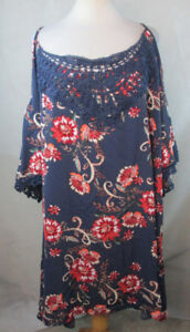 2f555d7adfe Image is loading XHILARATION-3X-WOMENS-PLUS-SIZE-FLORAL-SHIFT-DRESS-