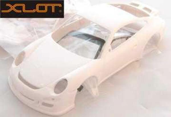 Bodywork complete Porsche 997 Xlot Ninco scale 1 28