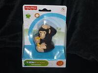 Fisher Price Little People Zoo Chimpanzee Monkey Banana
