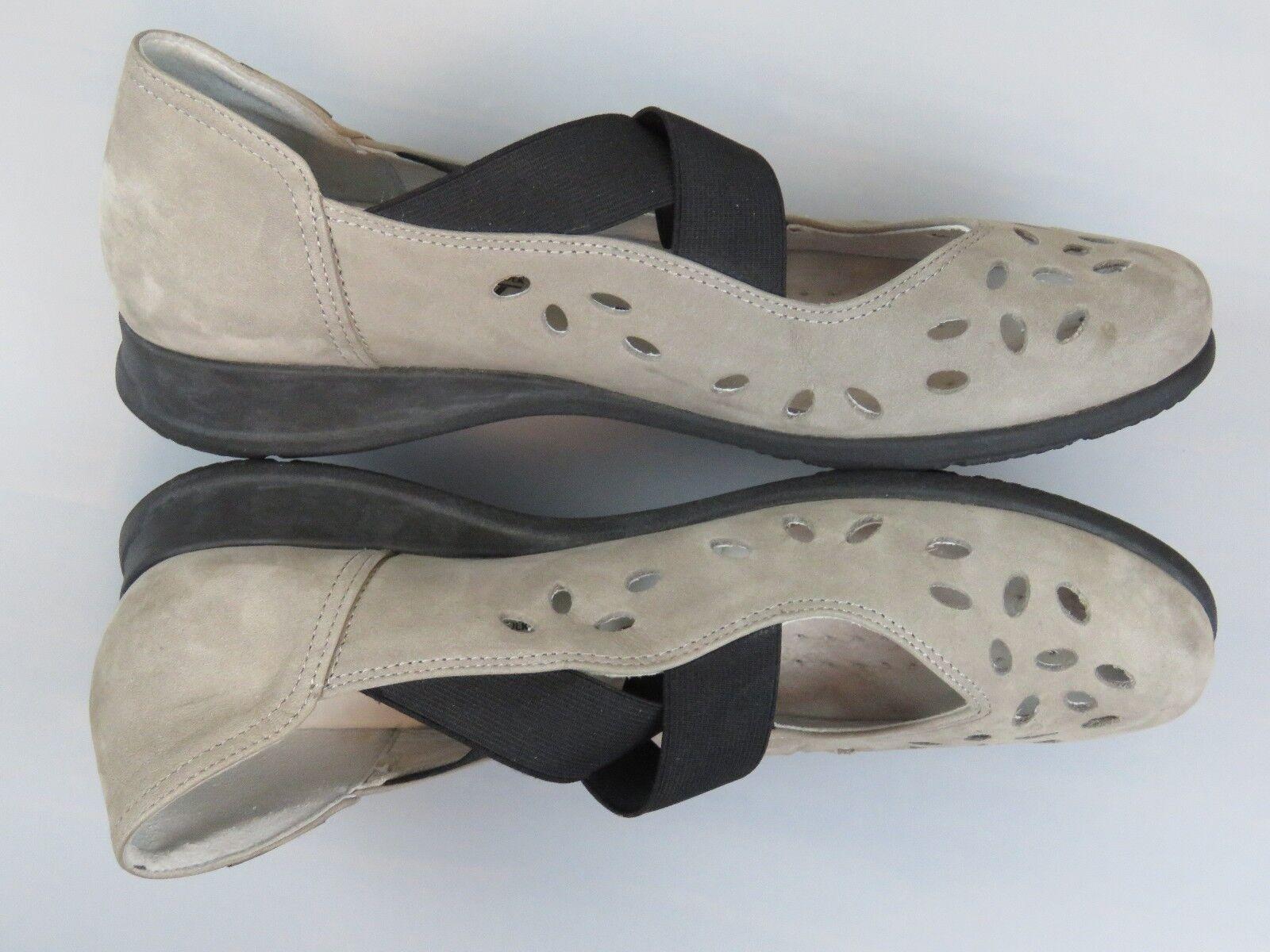 Mephisto femmes's Grobina Nubuck Taille US 7.5 7.5 7.5 - Mary Jane - Elastic Straps f6f993