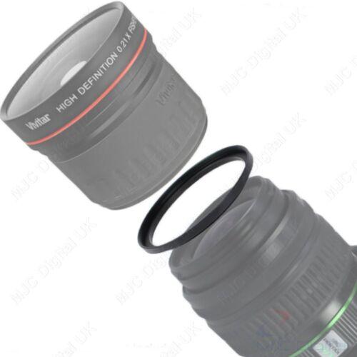 Anillo de la lente 55mm-55mm macho a macho de 55 a 55 Macro Adaptador Anillo Inversa