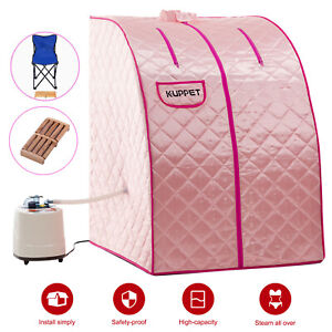 2L-Home-Portable-Steam-Sauna-Spa-Full-Body-Slim-Weight-Loss-Detox-Therapy-Pink