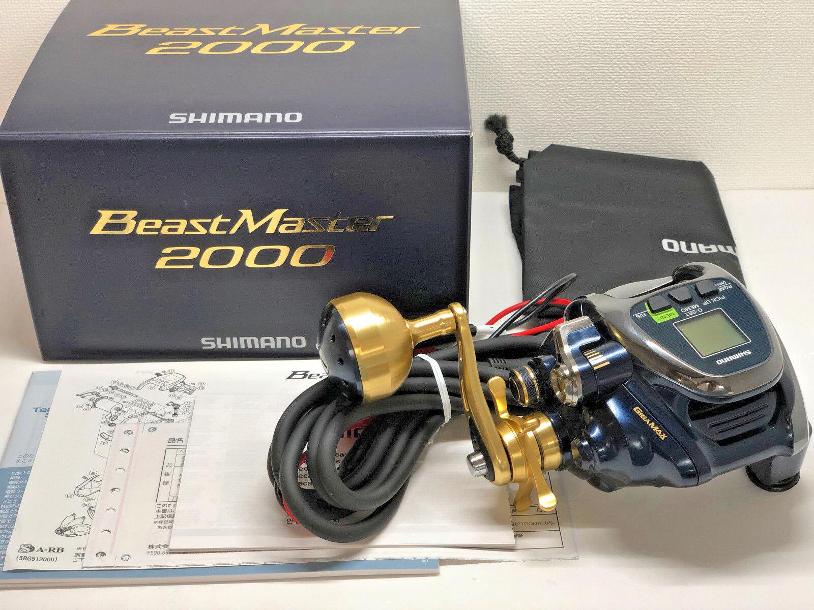 SHIMANO 18 BEAST MASTER 2000  - Free Shipping from Japan