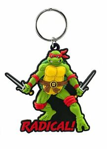 PVC Key Chain - TMNT - Raphael Soft Touch New Toys Gifts 63019