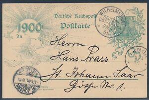 DOA-Jahrhundertpostkarte-Mitlaeufer-ab-Wilhelmsthal-1901-geprueft-S16423