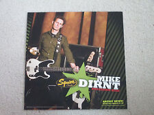 FENDER SQUIRE PRECISION BASS - MIKE DIRNT - GUITAR STORE 16 X 16 DISPLAY POSTER