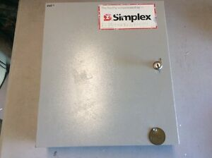 SIMPLEX-DETECTION-SYSTEMS-DS7400XI-Panel-Box-Fire-Alarm