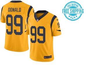 promo code 4a9b3 e96f1 Details about Men's Los Angeles Rams #99 Aaron Donald Vapor Untouchable  Color Rush Jersey