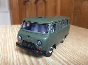 UAZ-3962 Bus metal SarAvto  1:43 USSR car  1//43